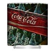 Vintage Coca Cola 1 Shower Curtain
