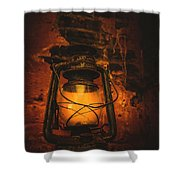 Vintage Colonial Lantern Shower Curtain