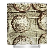 Vintage Cooking Background Shower Curtain