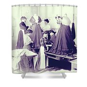 Vintage Dressmakers Shower Curtain