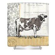 Vintage Farm 4 Shower Curtain by Debbie DeWitt
