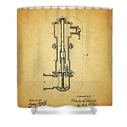 Vintage Fire Hydrant Shower Curtain