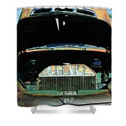 Vintage Ford Pickup Truck Shower Curtain