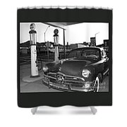 Vintage Ford Shower Curtain