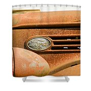 Vintage Ford Truck Shower Curtain