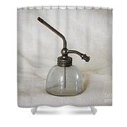 Vintage Fragrance Bottle Shower Curtain