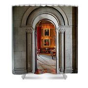 Vintage Hall Shower Curtain