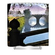 Vintage Japanese Art 15 Shower Curtain