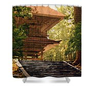 Vintage Japanese Art 16 Shower Curtain