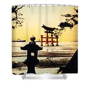 Vintage Japanese Art 23 Shower Curtain