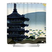 Vintage Japanese Art 9 Shower Curtain