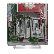 Vintage Lady Shower Curtain