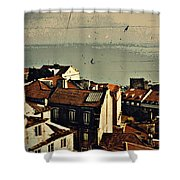 Vintage Lisboa Shower Curtain