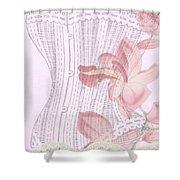 Vintage Look Shower Curtain