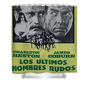 Vintage Movie Poster 6 Shower Curtain