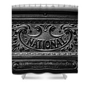 Vintage National Cash Register Shower Curtain