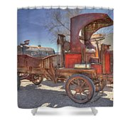 Vintage Packard Truck Shower Curtain