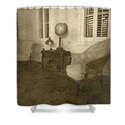 Vintage Photograph Farmhouse Interior Shower Curtain