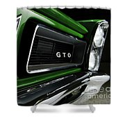 Vintage Pontiac Gto - Doc Braham - All Rights Reserved Shower Curtain