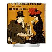 Vintage Poster 2 Shower Curtain