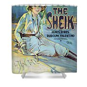Vintage Poster - The Sheik Shower Curtain