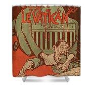 Vintage Poster - Vatican Galantara Shower Curtain