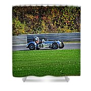 Vintage Racer 61 Shower Curtain