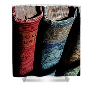 Vintage Read Shower Curtain