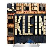 Vintage Retail Sign Shower Curtain