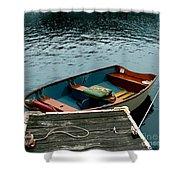 Vintage Rowboat Shower Curtain