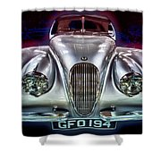 Vintage Speedster Shower Curtain