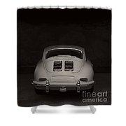 Vintage Sports Car Shower Curtain