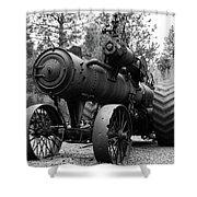 Vintage Steam Tractor Shower Curtain