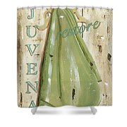 Vintage Sun Beach 1 Shower Curtain