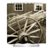 Vintage Tableau Shower Curtain