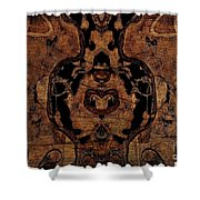 Vintage Tapestry Shower Curtain