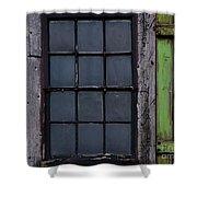 Vintage Windows Shower Curtain