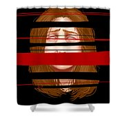 Violator Of The Terms Of Service  Shower Curtain