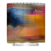 Violent Colours Shower Curtain