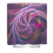 Violet Dreamy Feel Shower Curtain