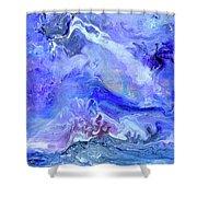 Violet Storm Shower Curtain