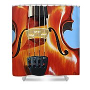 Violin Shower Curtain