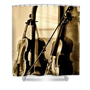 Violins Shower Curtain