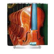 Violins For Sale Shower Curtain
