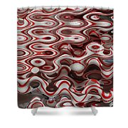 Viral Canes Shower Curtain