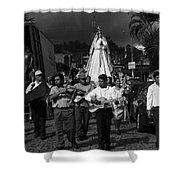 Virgen Concepcion De Ataco Bnw 2 Shower Curtain