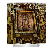 Virgen De Guadalupe 6 Shower Curtain