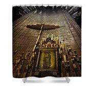 Virgen De Guadalupe 9 Shower Curtain