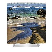 Virgin Gorda Beach Shower Curtain