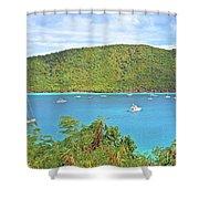 Virgin Island Getaway Shower Curtain